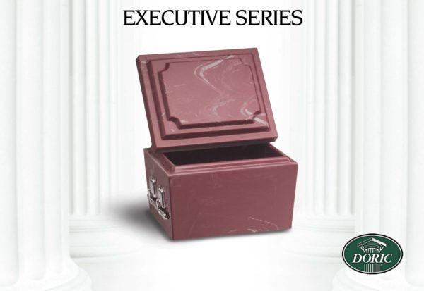 Chesapeake Burial Vault Company, Inc. - Burial Vaults - Executive Unlined Ruby