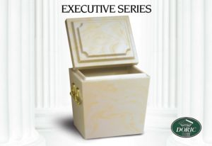 Chesapeake Burial Vault Company, Inc. - Burial Vaults - Executive Unlined White Tall