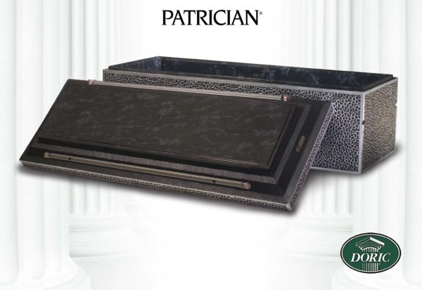 Chesapeake Burial Vault Company, Inc. - Burial Vaults - Patrician Black Marble