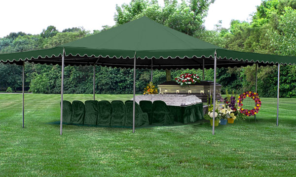 Chesapeake Burial Vault Company, Inc. - Vault Tent Setup Service
